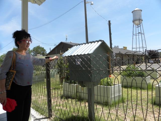 Belen  - fence water tower