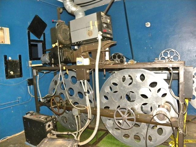 Lovington - projector