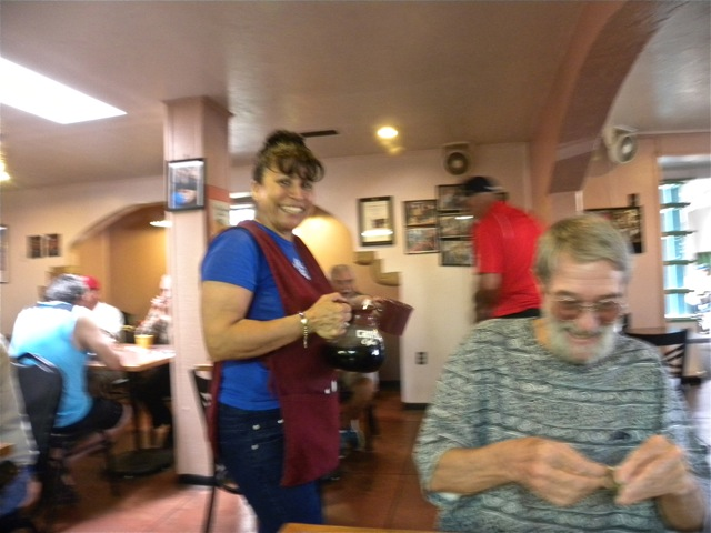 back to barelas - waitress